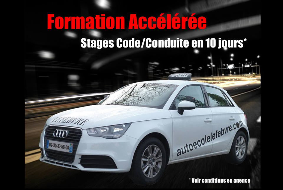 Formation accélérée code et conduite